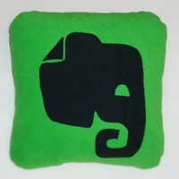 Evernote Icon Pillow