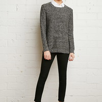 Layered Collar Sweater