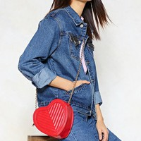 WANT Down to a Fine Heart Crossbody Bag