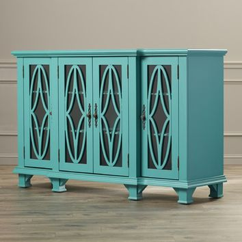 House of Hampton Gastonia 4 Door Cabinet