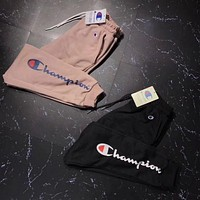 Champion Fashion Men Fashion Print Sport Stretch Pants Trousers Sweatpants I