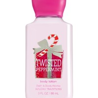 Travel Size Body Lotion Twisted Peppermint