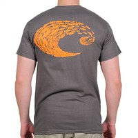 Schoolin Logo Tee in Charcoal Grey by Costa Del Mar - FINAL SALE