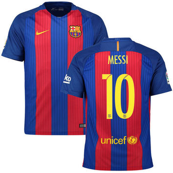 Messi Jersey Barcelona 2016 2017