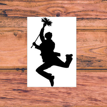Mary Poppins Bert Decal | Disney Mary Poppins Preppy Decal | Disney Character Decal | Mary Poppins and Bert Decal  | 355