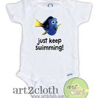 Finding Dory Quotes Baby Onesuit | art2cloth