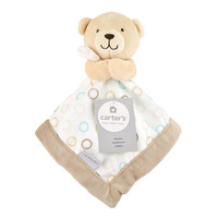 Carter's Bear with Dots Security Blanket