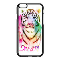 Watercolor Tiger 2 Black Hard Plastic Case for iPhone 6 Plus by Gangtoyz