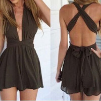 Earthy Wrapped Romper