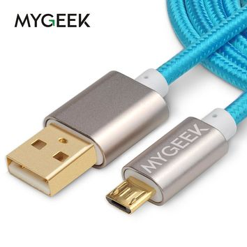 Micro usb Cable for Samsung galaxy Android 3m 2m Fast Charge wire