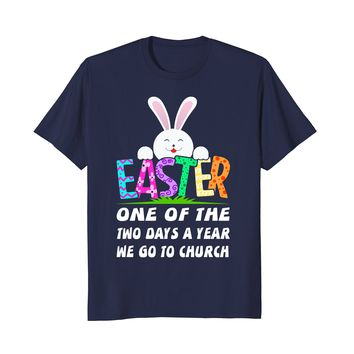 Bunny Christ We Go To Church   Funny Happy Easter 2018 Shirt