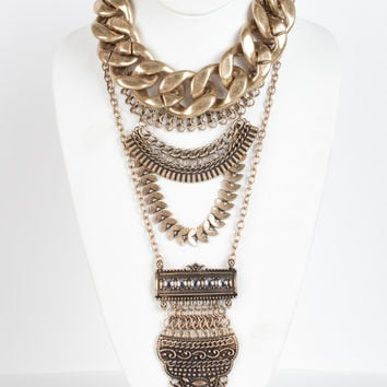 Holiday Vixen Chain Necklace