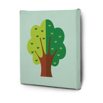 Cute Flora Pictures Series Canvas Wall Art Decal Painting Prints Decor Tree