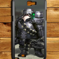 Pug Metal Samsung Galaxy Note 2 Case