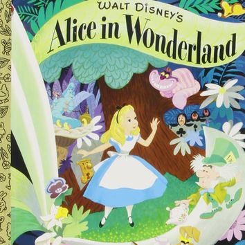 Walt Disney's Alice in Wonderland Little Golden Books