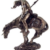 End of the Trail Indian on Horse Statue by Fraser, Assorted Sizes