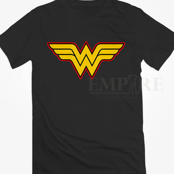 Wonder Women Logo Unisex/Men Tshirt All Size