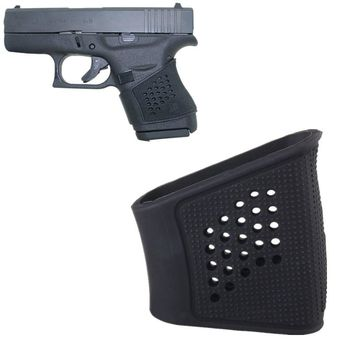 Tactical Rubber Grip Glove Sleeve for Glock 43 42 Slip-On Cover Anti Slip handguns Accessories