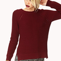 Standout Cable Knit Sweater