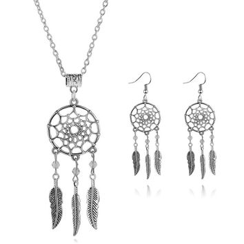 New Arrival Gift Shiny Jewelry Accessory Stylish Dream Catcher Lock Pendant Necklace [6573111879]