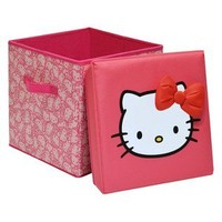 Hello Kitty Collapsible Storage Stool