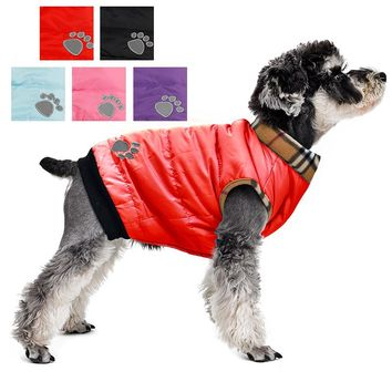 Winter Warm Padded Thick Dog Coat