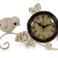 Bird Tabletop Clock