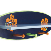 Surf'S Up - Shelf With Pegs