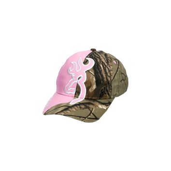 Browning Big Buckmark Hat Realtree Xtra/Fuchsia