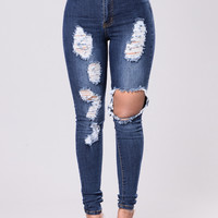 Teenage Fever Jeans - Dark