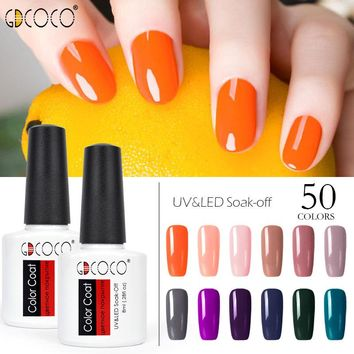 70312# GDCOCO Nail Gel Polish Canni Factory New Color Gel Polish High Quality Nail Art Salon Soak Off UV LED Nail Gel Varnish