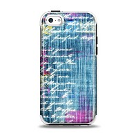 The Sketched Blue Word Surface Apple iPhone 5c Otterbox Symmetry Case Skin Set