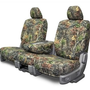 Custom Seat Covers - Nissan Titan 40-20-40 - Superflauge Camouflage Fabric