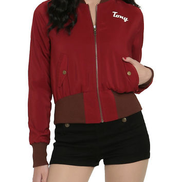 Marvel Her Universe Stark Industries Girls Bomber Jacket