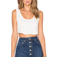 NYTT Chloe Crop Top in White