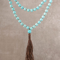 High-Energy Turquoise Mala