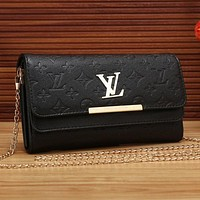 Perfect LV Women Shopping Leather Fashion Satchel Shoulder Bag Crossbody