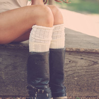 Crochet Detail Boot Socks