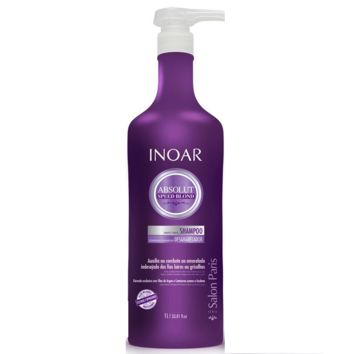 Inoar Absolut Speed Blond Shampoo 1000ml/ 33.81fl.oz