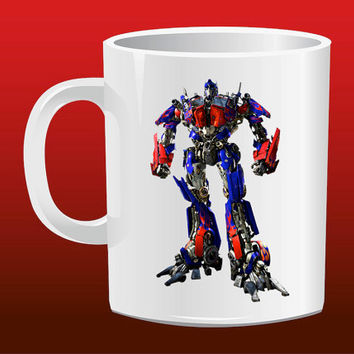 Transformers Optimus Prime for Mug Design