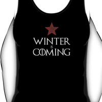 Winter (Soldier) Is Coming v.2 Unisex Tank Top