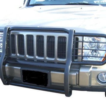 Mazda Tribute Mazda Tribute One Piece Grill/Brush Guard Black Grille Guards & Bull Bars Stainless Products Performance