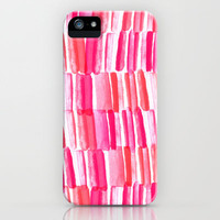 Hello watercolor iPhone & iPod Case by Sara Berrenson