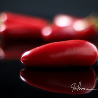 Red Jalapenos-11x14 - Fine Art Photograph