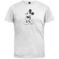 Mickey Mouse - Pencil Sketch T-Shirt