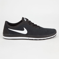 Nike Free Sb Nano Mens Shoes Black/White  In Sizes