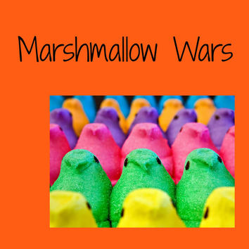 Marshmallow Wars (1): Everyone fights but no one really gets hurt...