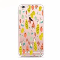 Retro Fruit Medley Print Case for iPhone