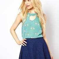 Sugarhill Boutique Heart Top in Ellie Print at asos.com