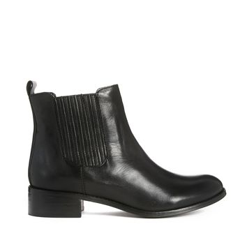 Dune Sangrila Leather Ankle Boots